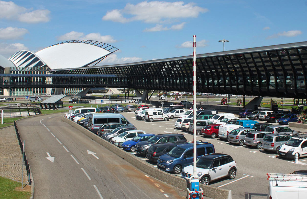 Comparateur des parkings de l'aéroport Lyon-Saint Exupéry