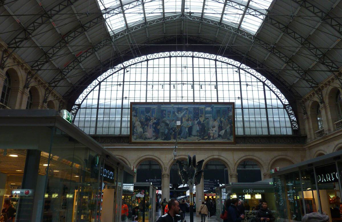 L'historique de la gare de l'Est