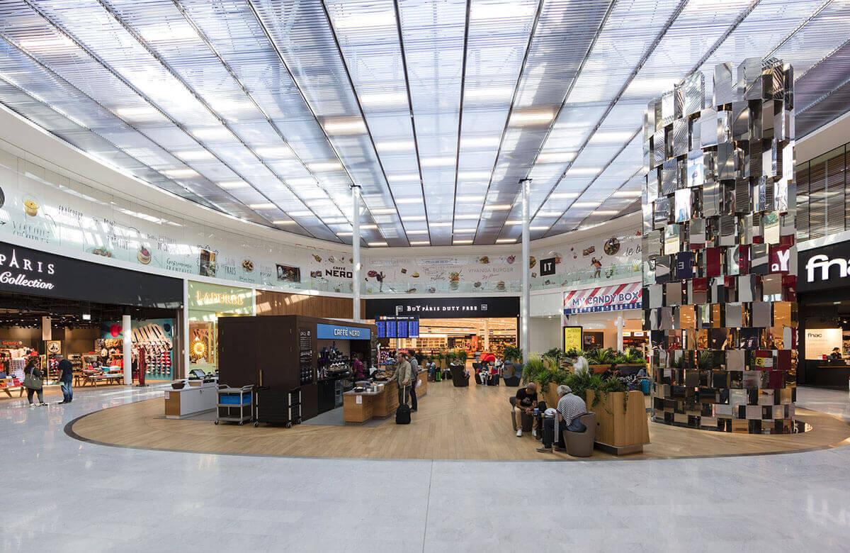 Les boutiques duty free de l'aéroport Paris Orly
