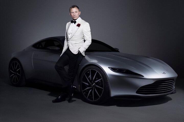 Pourquoi James Bond roule-t-il en Aston Martin?