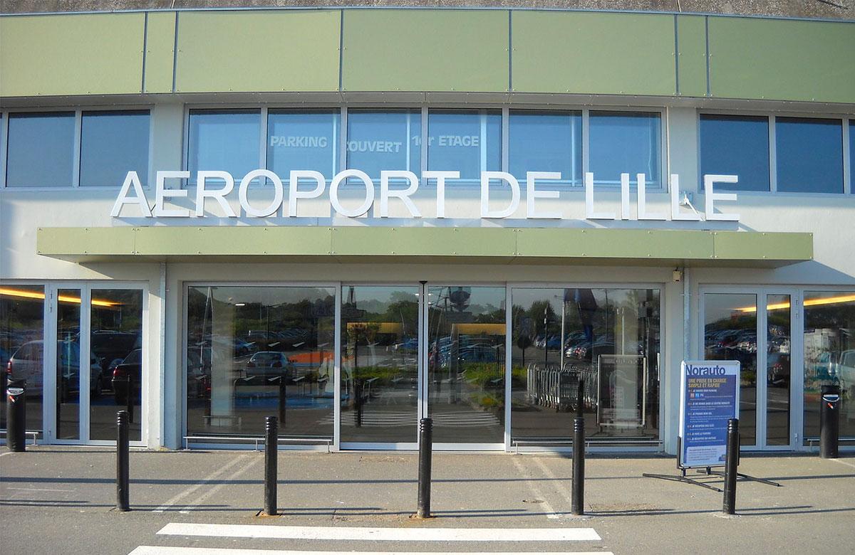 Les navettes à l'aéroport de Lille Lesquin