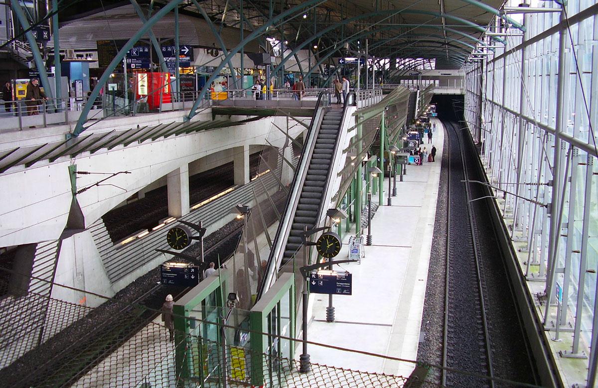 La gare de Lille Europe