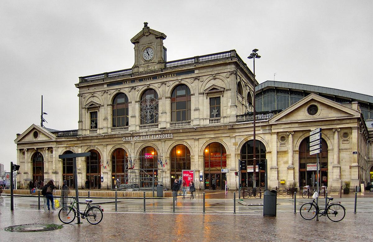 Comment aller à Lille-Flandres depuis le centre-ville ?