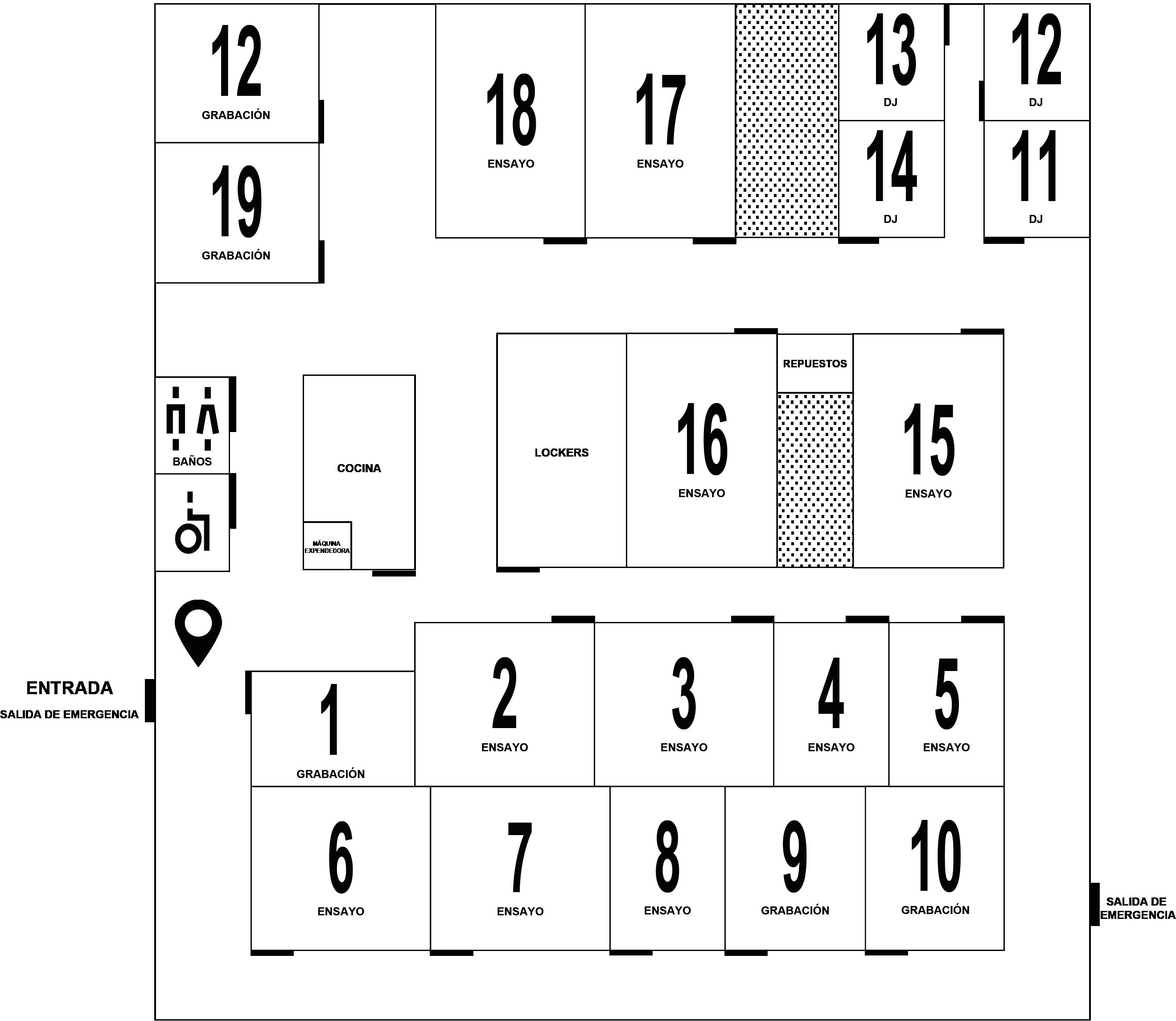 Floorplan: Baja planta