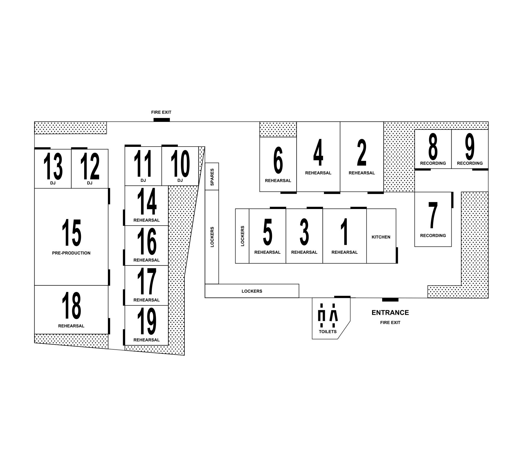 Floorplan: Ground floor