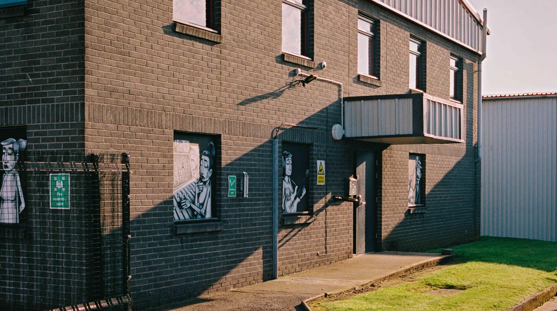 This image may contain: home decor, brick, walkway, path