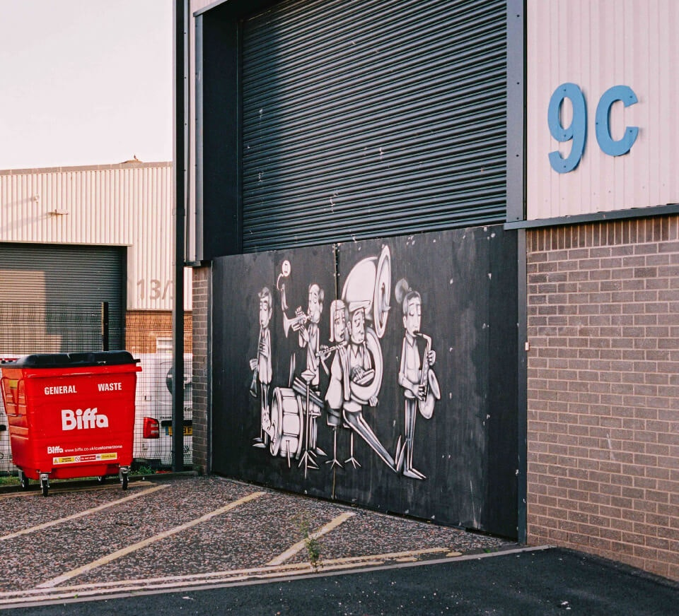 Street shot close to Pirate Studios Edinburgh location