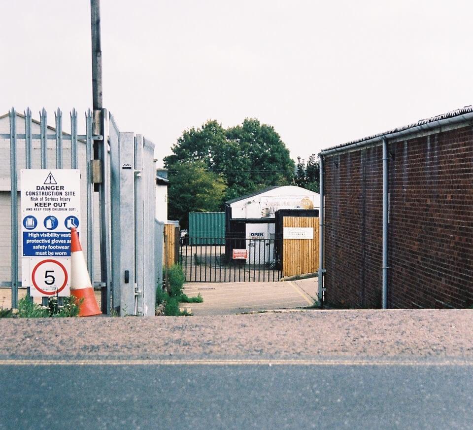 Streetside location close to Pirate Studios Norwich
