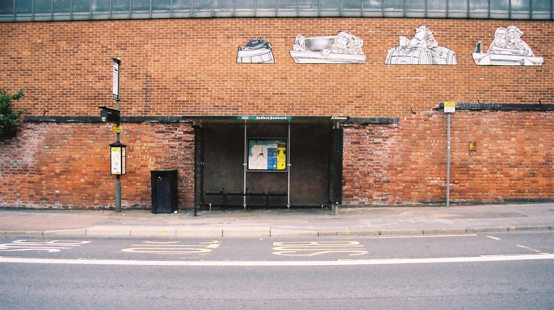 This image may contain: brick, tarmac, asphalt