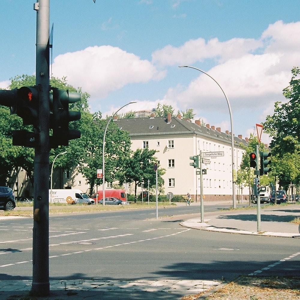 Street scene close to Pirate Tempelhof