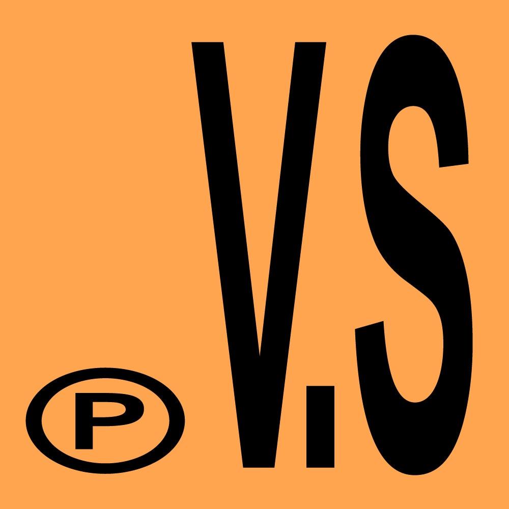 V.S - Orange + Black