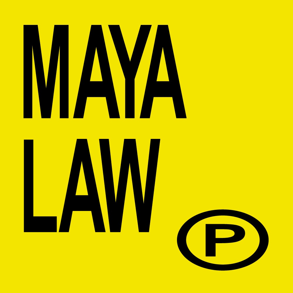 Maya Law - Yellow + Black