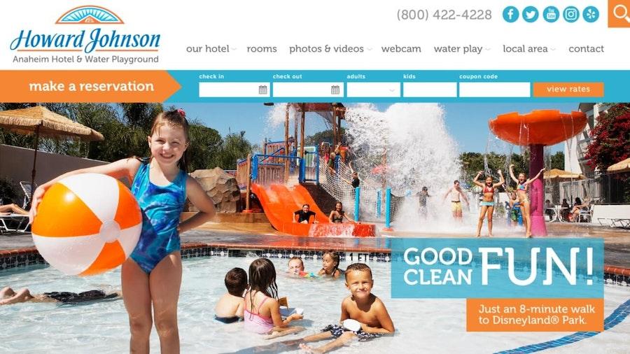 Howard Johnson Anaheim Hotel Water & Playground