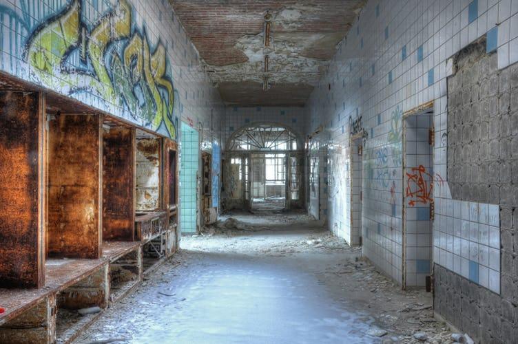Verlassene Orte – Die Beelitzer Heilstätten