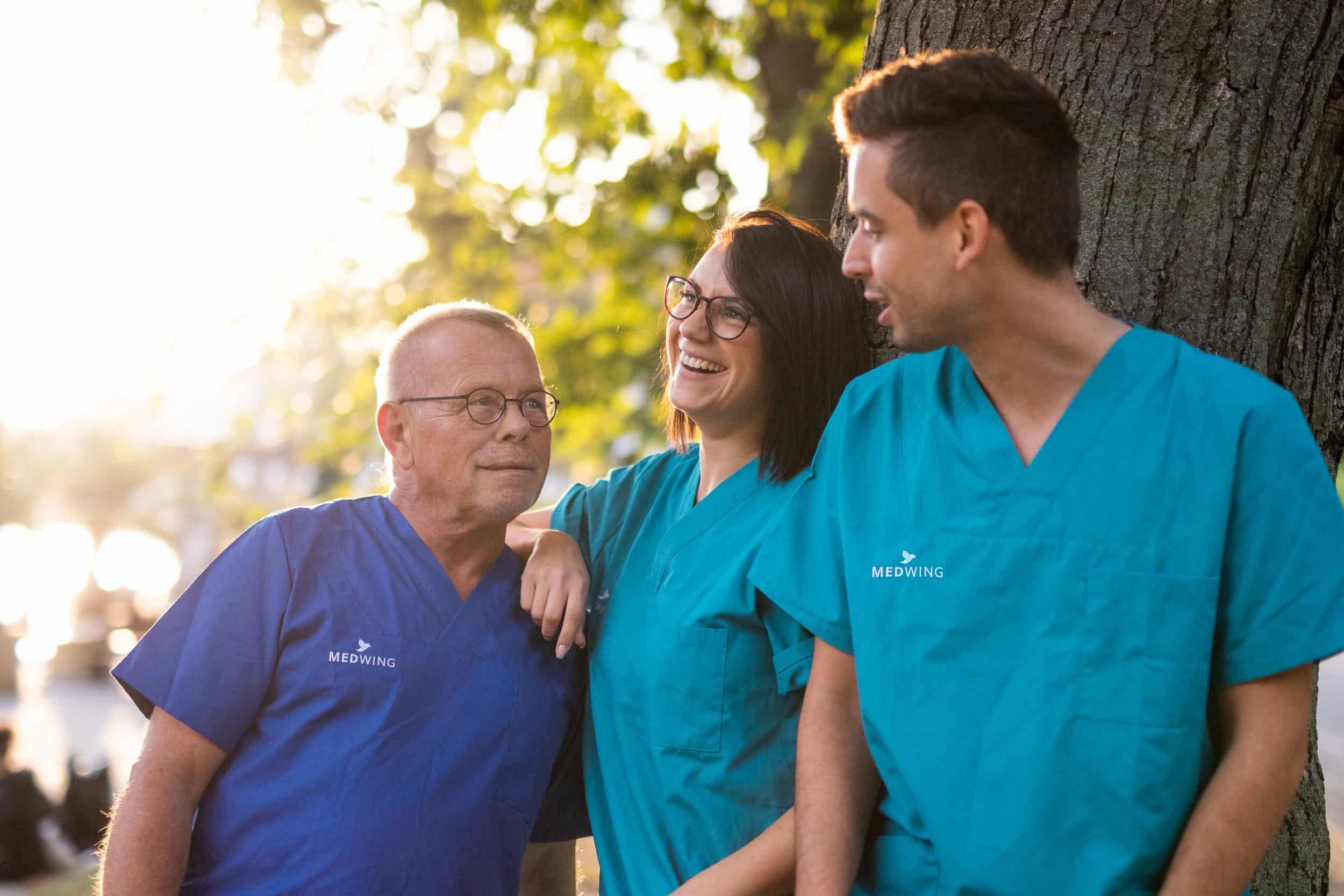 Nurses with dream job