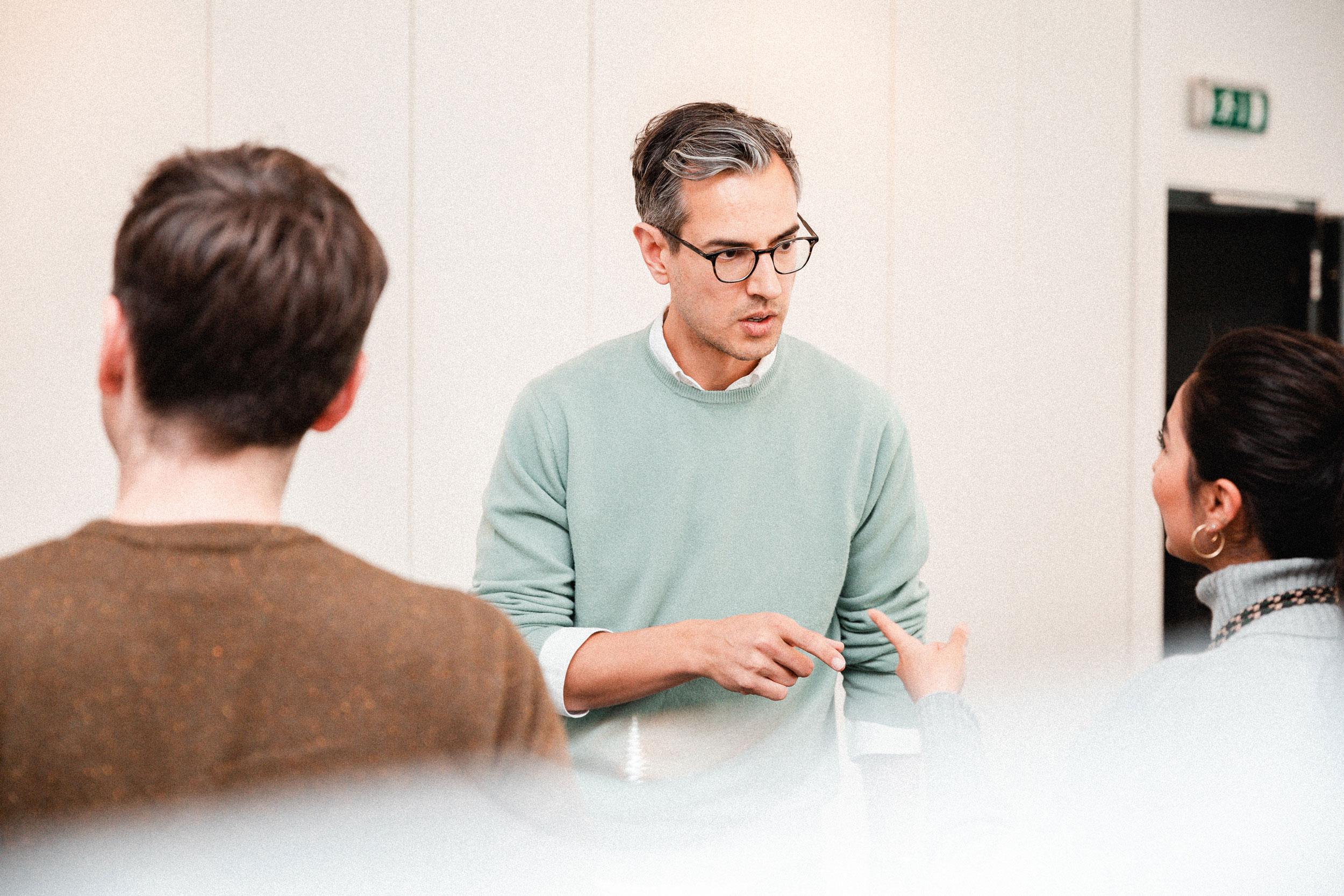 Team Pflege Diskussion