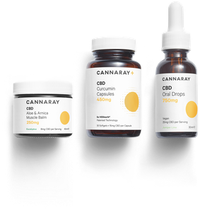 Cannaray CBD Fitness Kit