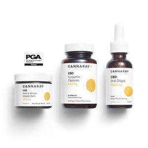 Cannaray CBD Pro Golfers CBD Kit PGA