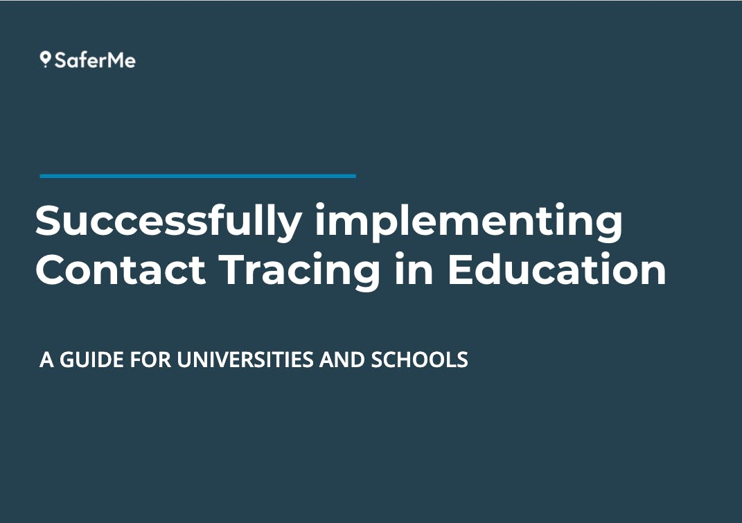 Guide to implementing contact tracing in education