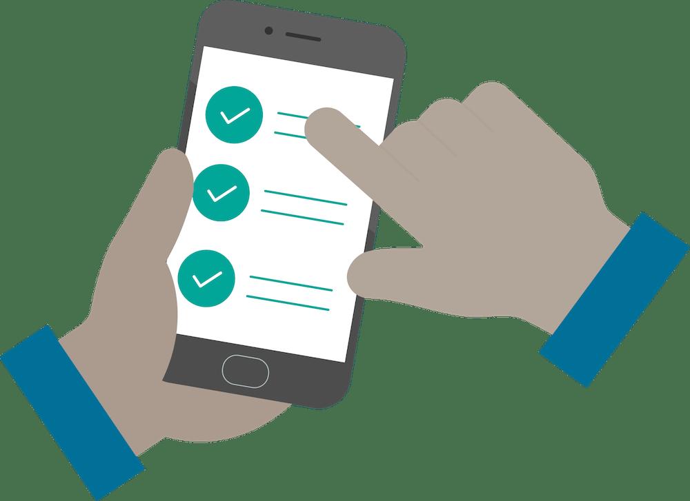 Health survey app image