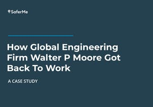 Walter P Moore contact tracing case study