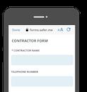 Contractor form