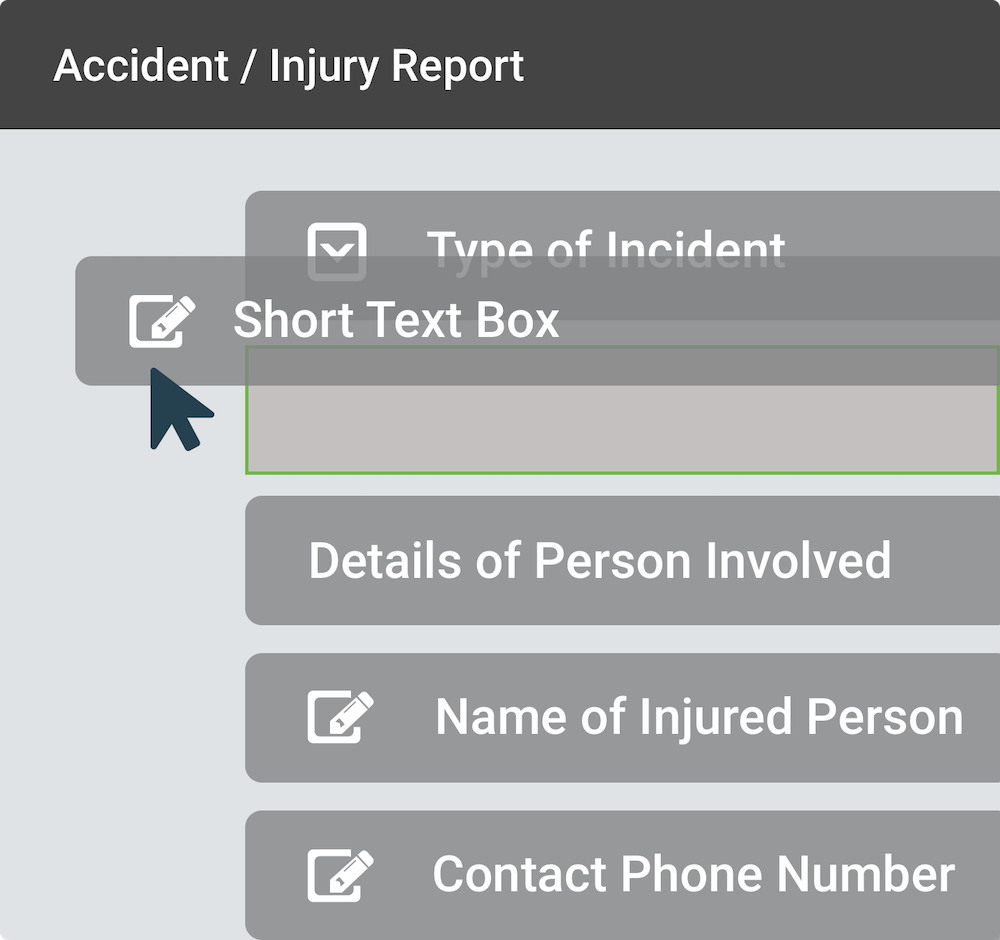 Accident form built in SaferMe