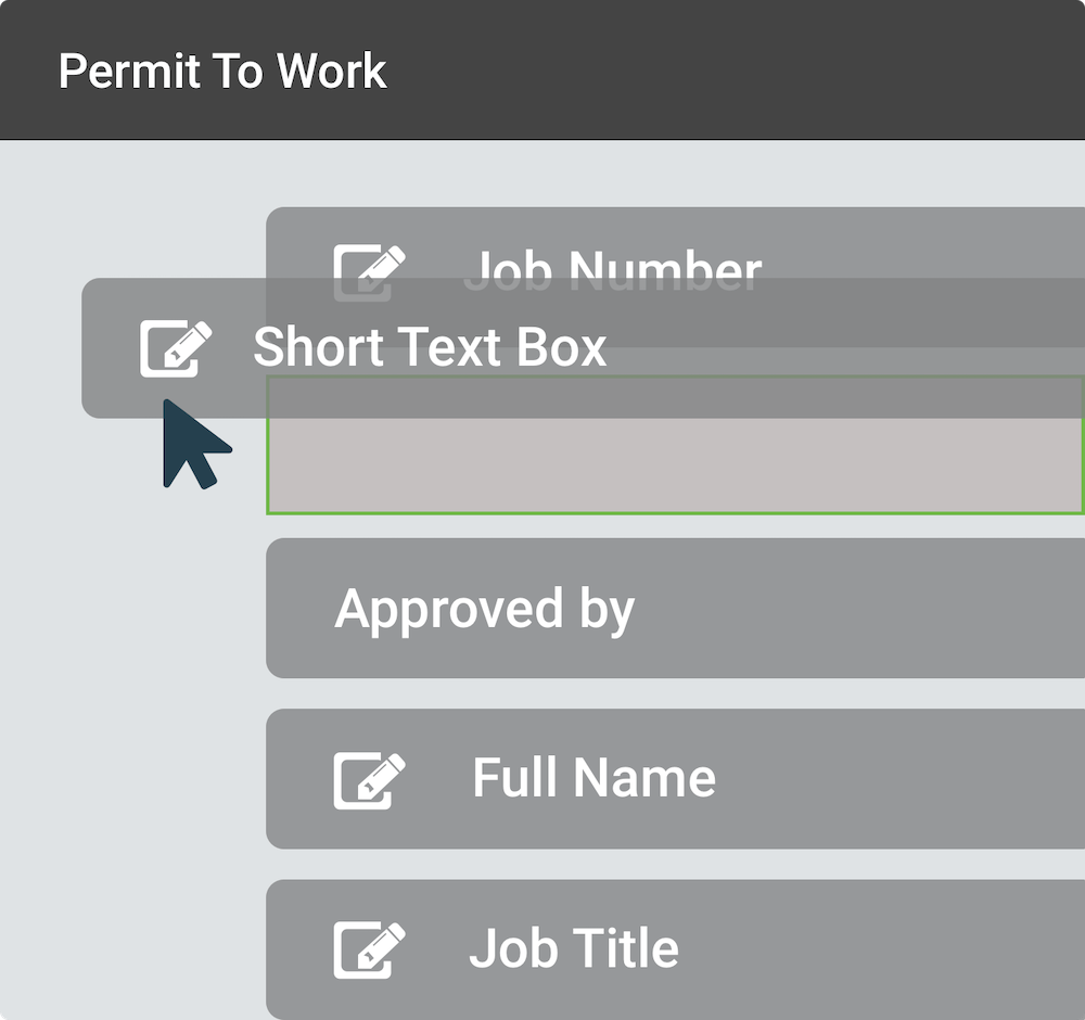 Permit to work form builder in SaferMe