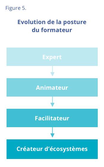 Figure 5 - Evolution de la posture du formateur