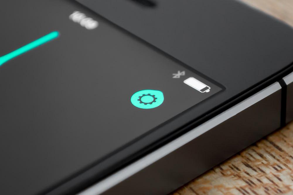 Settings icon detail