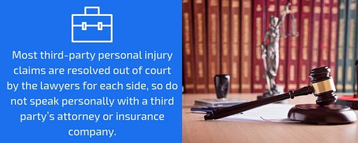 third-party personal injury claims