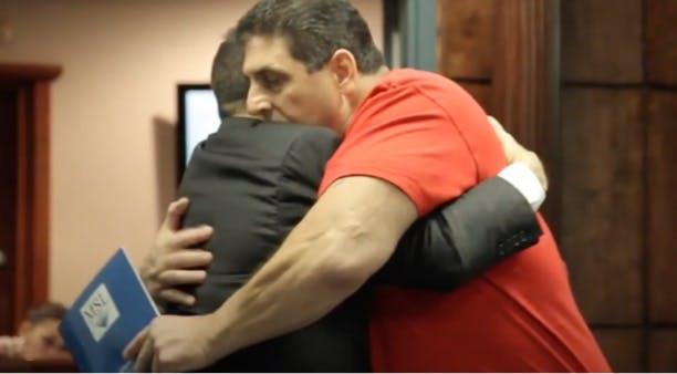 Watch NYC Construction Worker Vito's Heartwarming Testimonial