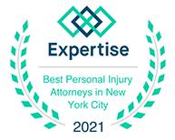 Expertise 2020-2021; El Mejor Abogado de Lesiones Personales de Nueva York