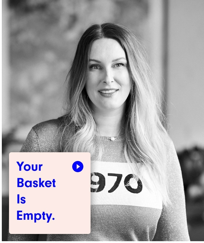 Your Basket Is Empty podcast — Agency Side Series with our Co-Founder, Kelly Brown