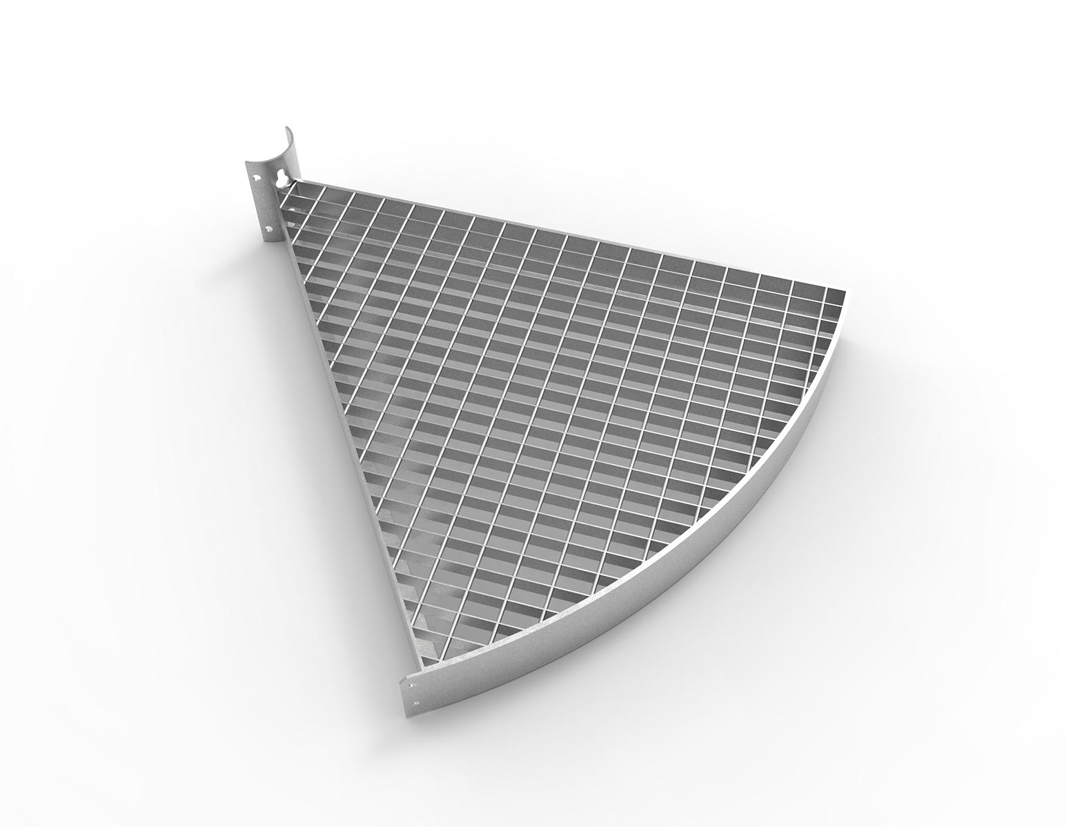 landings sprial staircase