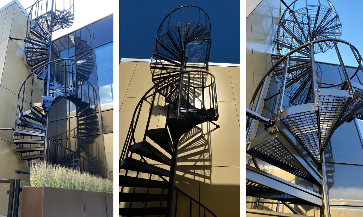 Kjellstad - Eurostair spiraltrappor