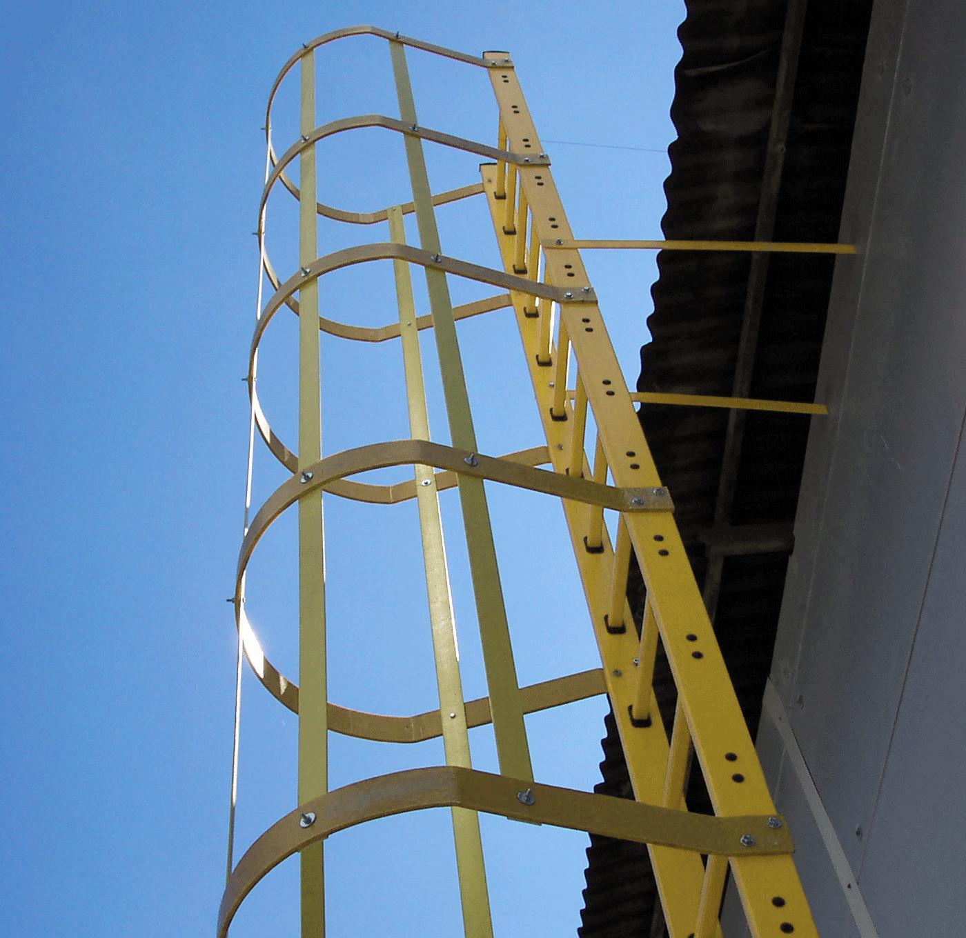 Eurostair stege i GRP durk