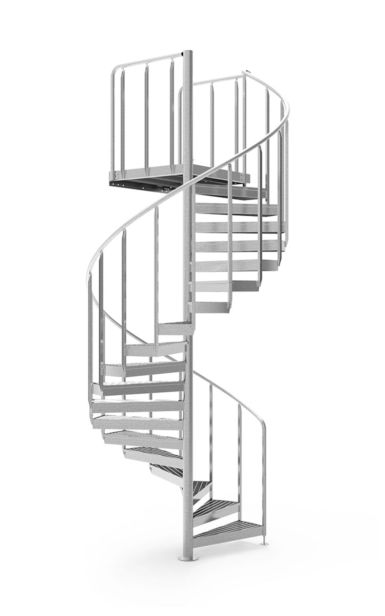 Eurostair Standard Spindeltreppe