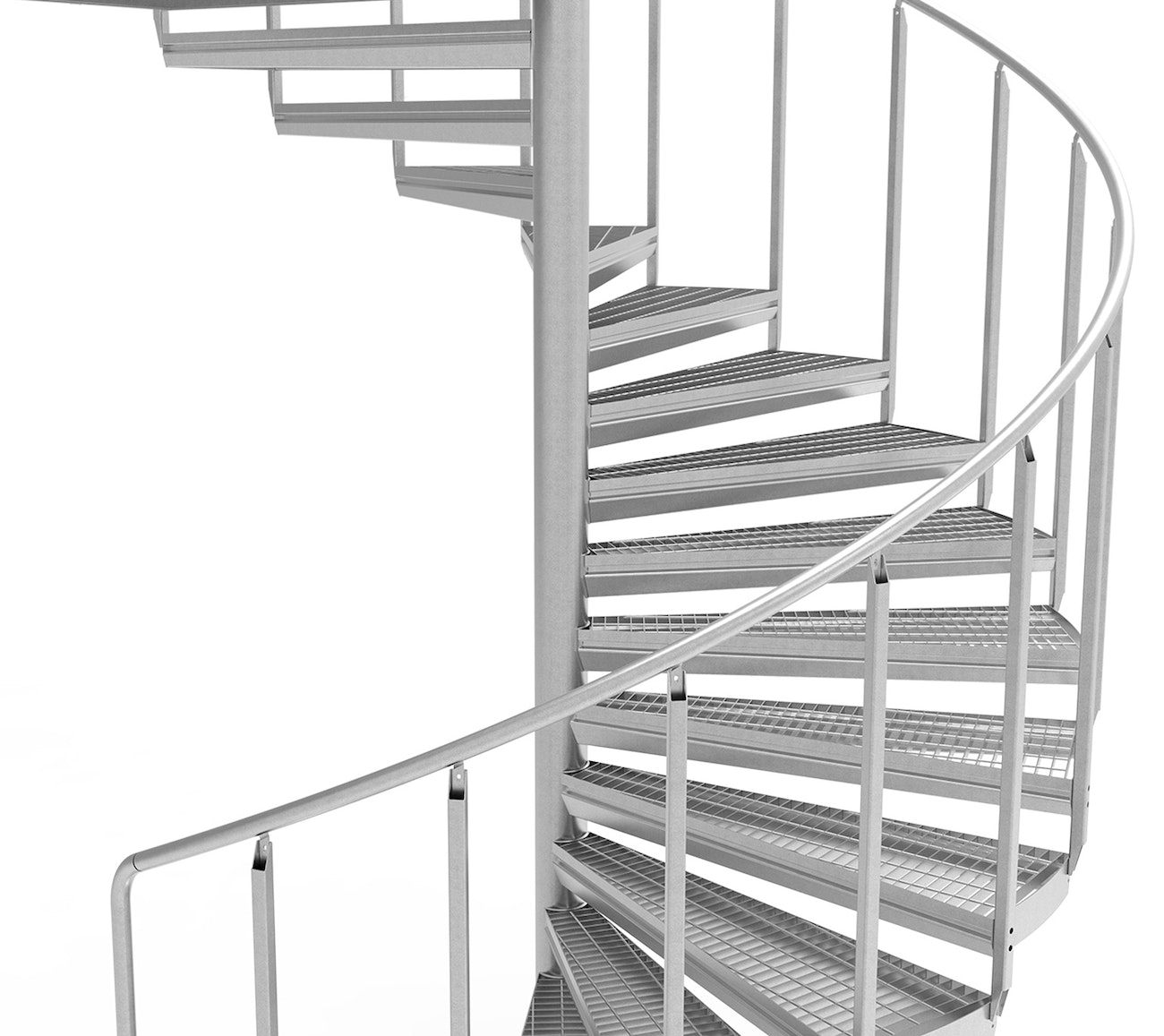 Eurostair spiral staircase Premium benefits