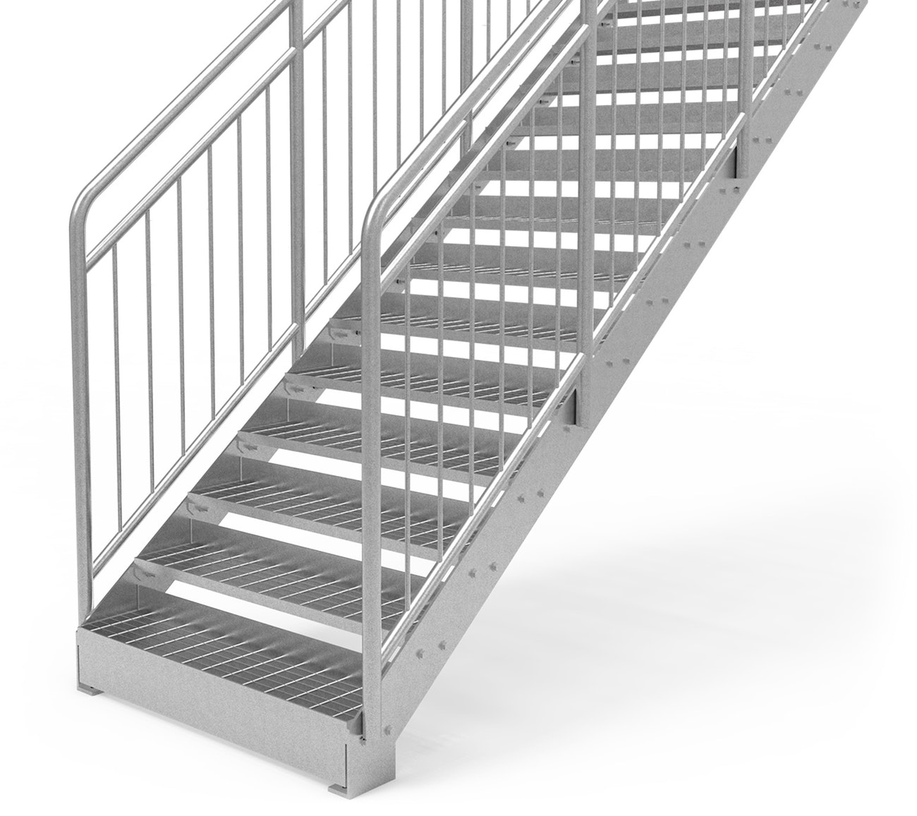 Eurostair straight staircase standard benefits