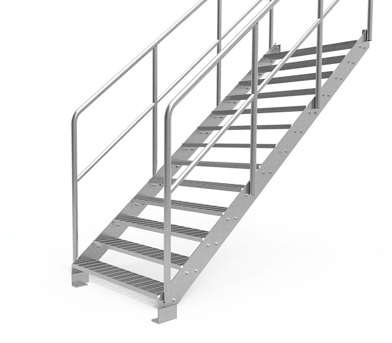 Eurostair straight staircase standard