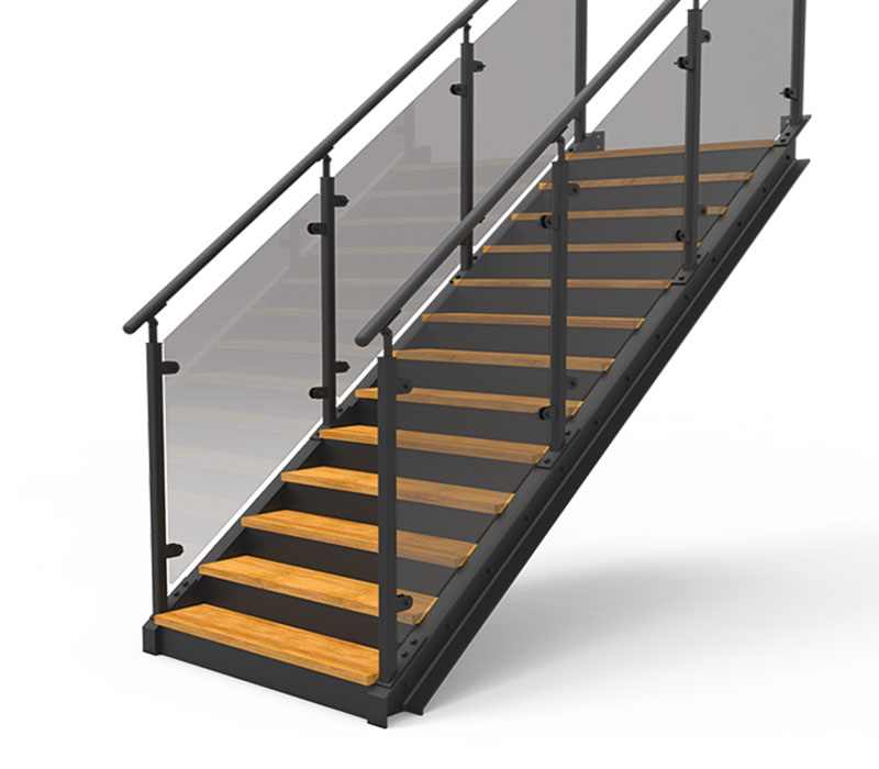 Eurostair straight staircase premium