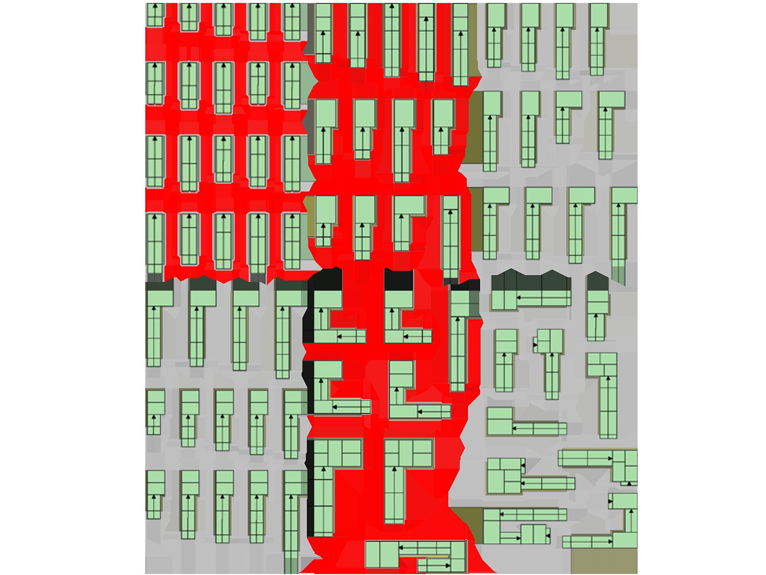 En modulrampe med 999 liv