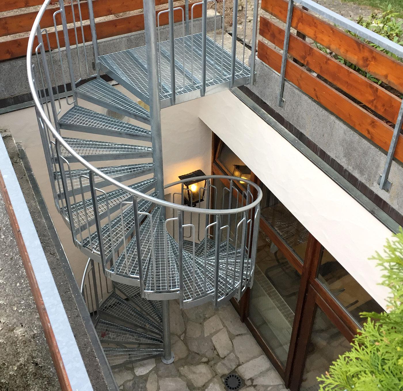 Eurostair spiraltrappa källare