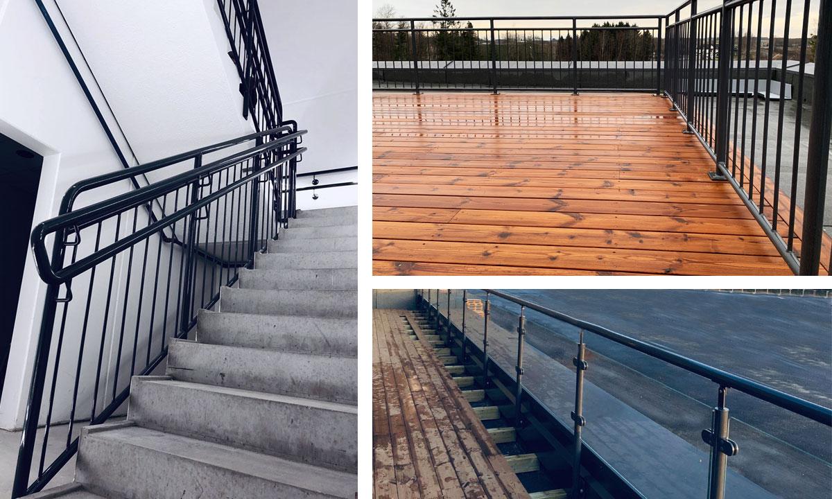 Eurostair railings
