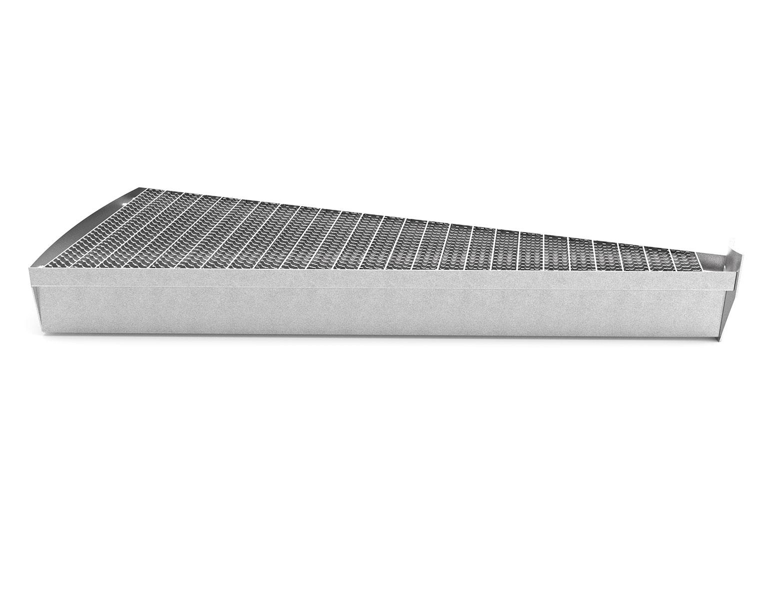 Pressdurk 33x11 enkel serraterad