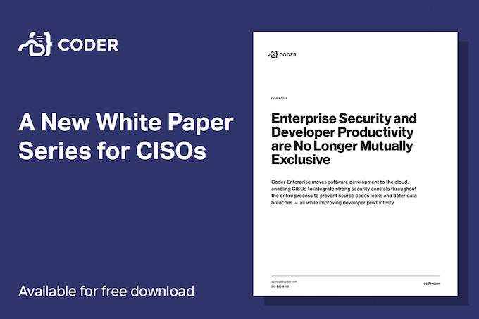 A new white paper series for CISOs