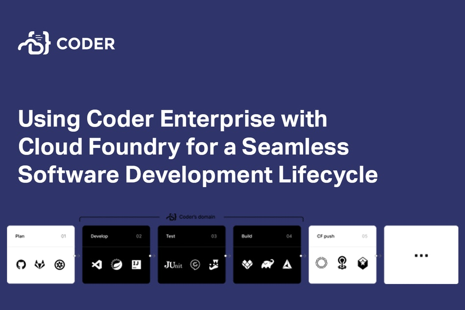Using Coder Enterprise with Cloud Foundry for a Seamless Software Development Lifecycle
