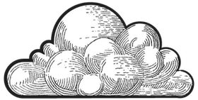illustration of a cloud