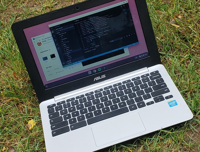 Developing on a Chromebook